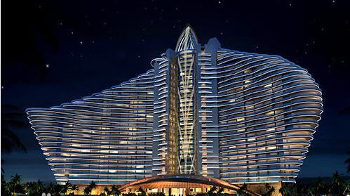 基装饰公司中标红树林七星度假酒店深化设计